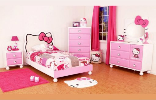 dipan anak minimalis hello kitty furniture jepara