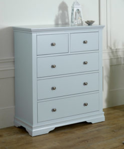 Nakas Drawer Minimalis Warna Grey